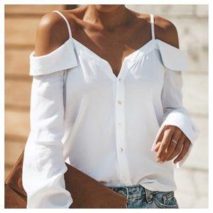 Elegant Off the Shoulder Blouse